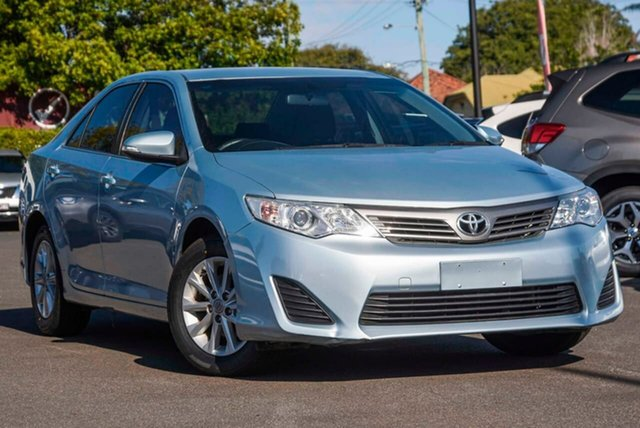 Used Toyota Camry ASV50R Altise, 2014 Toyota Camry ASV50R Altise Blue 6 Speed Sports Automatic Sedan