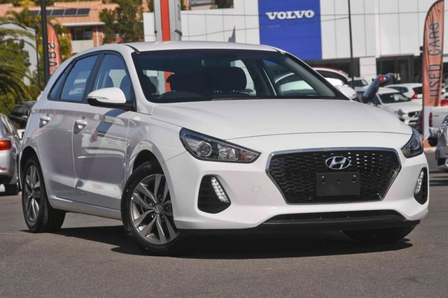 Used Hyundai i30 PD MY18 Active, 2018 Hyundai i30 PD MY18 Active White 6 Speed Sports Automatic Hatchback