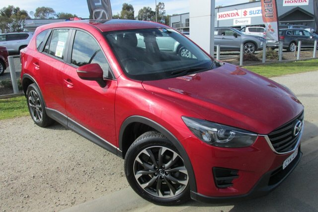 Used Mazda CX-5 KE1032 Maxx SKYACTIV-Drive AWD Sport, 2015 Mazda CX-5 KE1032 Maxx SKYACTIV-Drive AWD Sport Red 6 Speed Sports Automatic Wagon
