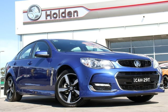 Used Holden Commodore VF II MY17 SV6, 2017 Holden Commodore VF II MY17 SV6 Slipstream Blue 6 Speed Sports Automatic Sedan