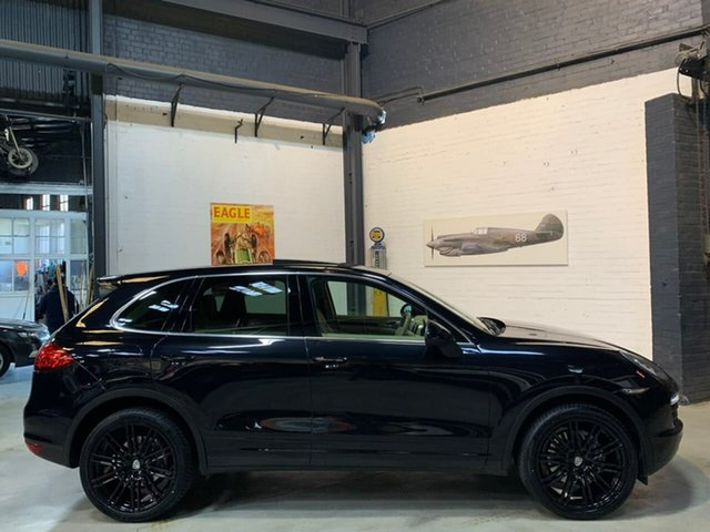 Used Porsche Cayenne 92A MY11 Diesel Tiptronic, 2010 Porsche Cayenne 92A MY11 Diesel Tiptronic Black 8 Speed Sports Automatic Wagon