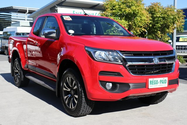 Used Holden Colorado RG MY18 LTZ Pickup Space Cab, 2018 Holden Colorado RG MY18 LTZ Pickup Space Cab Red 6 speed Manual Utility