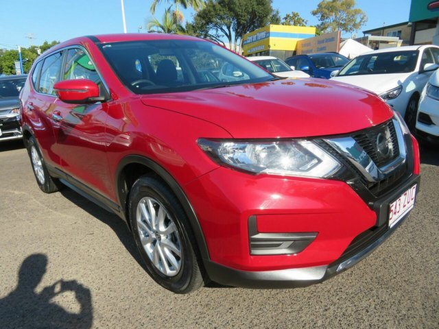 Used Nissan X-Trail T32 Series II ST X-tronic 4WD, 2019 Nissan X-Trail T32 Series II ST X-tronic 4WD Red 7 Speed Constant Variable Wagon