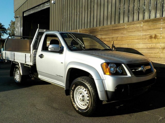 Used Holden Colorado RC MY09 LX 4x2, 2009 Holden Colorado RC MY09 LX 4x2 Silver 5 Speed Manual Cab Chassis
