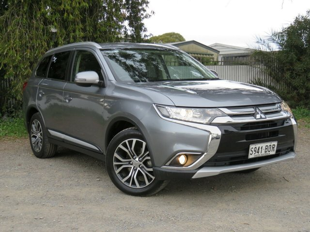 Used Mitsubishi Outlander ZK MY16 LS 4WD, 2015 Mitsubishi Outlander ZK MY16 LS 4WD Grey 6 Speed Constant Variable Wagon
