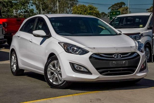 Used Hyundai i30 GD MY14 Elite, 2014 Hyundai i30 GD MY14 Elite White 6 Speed Manual Hatchback