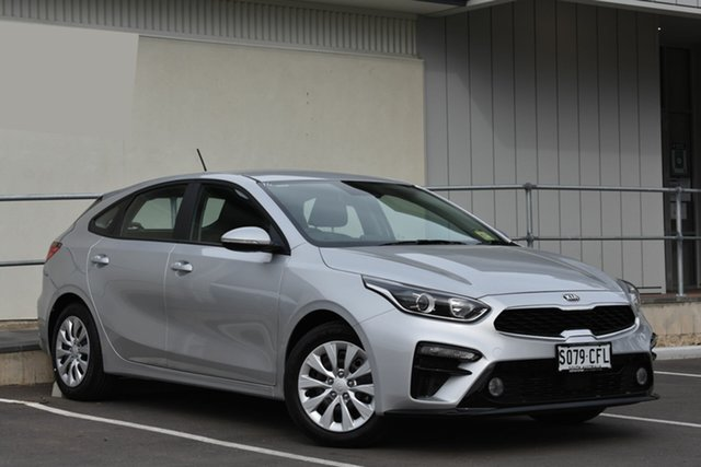 Demo Kia Cerato BD MY20 S, 2020 Kia Cerato BD MY20 S Silky Silver 6 Speed Sports Automatic Hatchback