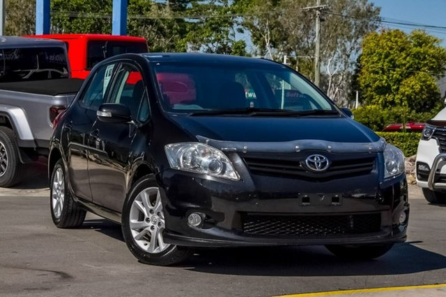 Used Toyota Corolla ZRE152R MY11 Ascent Sport, 2011 Toyota Corolla ZRE152R MY11 Ascent Sport Black 6 Speed Manual Hatchback