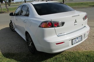 2016 Mitsubishi Lancer CF MY16 LS White 6 Speed Constant Variable Sedan