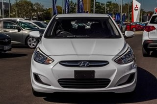 2017 Hyundai Accent RB4 MY17 Active White 6 Speed Constant Variable Hatchback