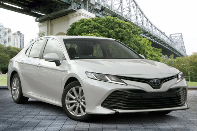 Used Toyota Camry AXVH71R Ascent, 2018 Toyota Camry AXVH71R Ascent White 6 Speed Constant Variable Sedan Hybrid