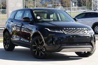 2020 Land Rover Range Rover Evoque L551 MY20.5 SE Black 9 Speed Sports Automatic Wagon.