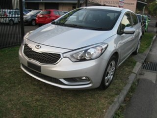 2015 Kia Cerato YD MY16 S Silver 6 Speed Manual Hatchback.