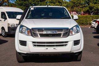2014 Isuzu D-MAX MY15 SX Crew Cab White 5 Speed Sports Automatic Utility