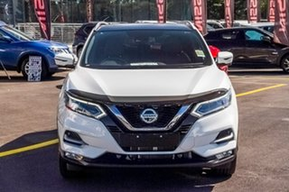 2019 Nissan Qashqai J11 Series 3 MY20 Ti X-tronic Ivory Pearl 1 Speed Constant Variable Wagon.