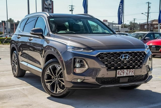 Demo Hyundai Santa Fe TM.2 MY20 Highlander, 2019 Hyundai Santa Fe TM.2 MY20 Highlander Magnetic Force 8 Speed Sports Automatic Wagon