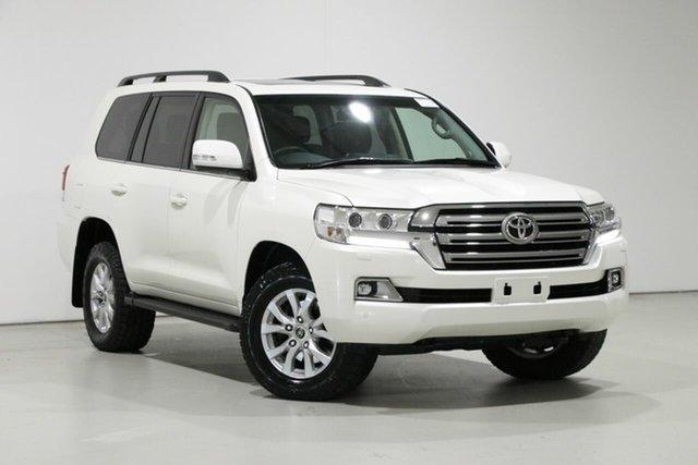 Used Toyota Landcruiser VDJ200R MY16 VX (4x4), 2016 Toyota Landcruiser VDJ200R MY16 VX (4x4) Pearl White 6 Speed Automatic Wagon