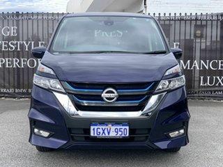 2018 Nissan Serena Highway Star E Power Purple Constant Variable Van.