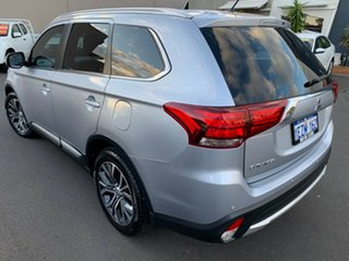 2016 Mitsubishi Outlander ZK MY16 XLS 2WD Silver 6 Speed Constant Variable Wagon.