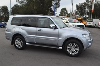 2014 Mitsubishi Pajero NW MY14 Exceed Silver 5 Speed Sports Automatic Wagon