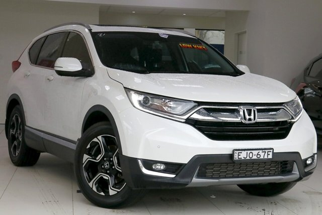 Used Honda CR-V MY18 , 2017 Honda CR-V MY18 2WD VTi White Automatic Wagon