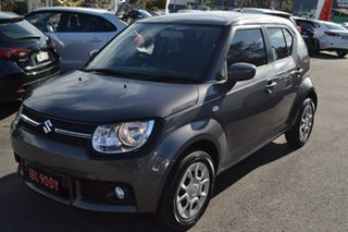 2016 Suzuki Ignis MF GL Grey 1 Speed Constant Variable Hatchback.