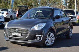 2017 Suzuki Swift AZ GL Navigator Grey 1 Speed Constant Variable Hatchback.