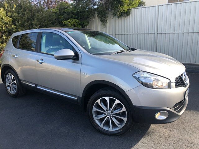 Used Nissan Dualis J10 Series II MY2010 Ti Hatch X-tronic, 2010 Nissan Dualis J10 Series II MY2010 Ti Hatch X-tronic Blade 6 Speed Constant Variable Hatchback