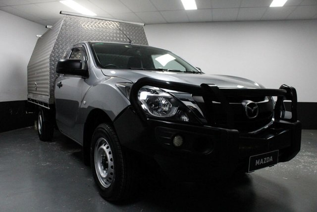 Used Mazda BT-50 UR0YE1 XT 4x2, 2017 Mazda BT-50 UR0YE1 XT 4x2 6 Speed Manual Cab Chassis