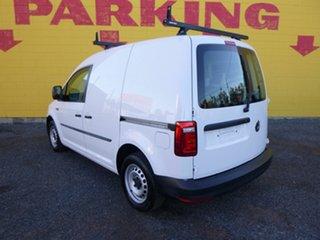 2017 Volkswagen Caddy 2KN MY18 TSI160 SWB Runner White 5 Speed Manual Van