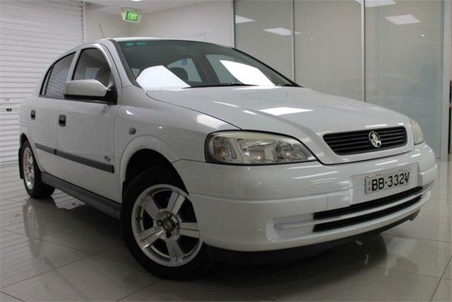 Used Holden Astra TS City, 2003 Holden Astra TS City White 5 Speed Manual Hatchback