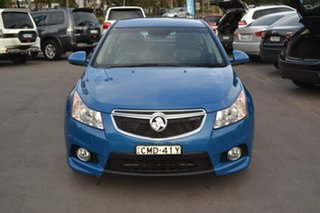 2012 Holden Cruze JH Series II MY13 SRi-V Blue 6 Speed Sports Automatic Sedan.
