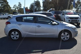 2016 Kia Cerato YD MY16 S Silver 6 Speed Sports Automatic Hatchback