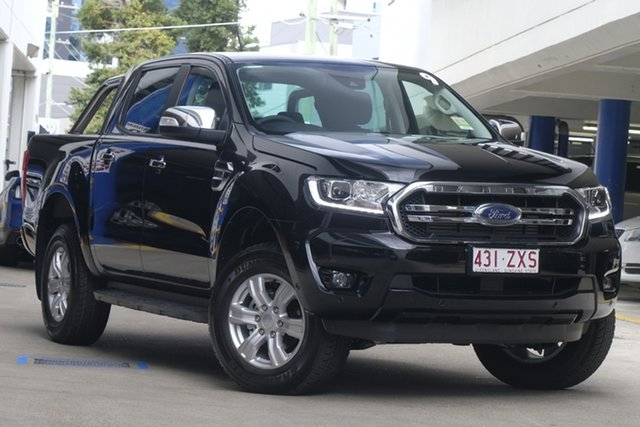 Demo Ford Ranger PX MkIII 2020.25MY XLT, 2020 Ford Ranger PX MkIII 2020.25MY XLT Shadow Black 6 Speed Sports Automatic Double Cab Pick Up