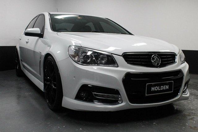 Used Holden Commodore VF MY15 SS V, 2015 Holden Commodore VF MY15 SS V White 6 Speed Manual Sedan