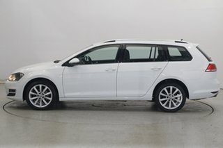 2016 Volkswagen Golf VII MY17 110TSI DSG Highline White 7 Speed Sports Automatic Dual Clutch Wagon.