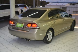 2009 Honda Civic 8th Gen MY09 VTi Beige 5 Speed Automatic Sedan