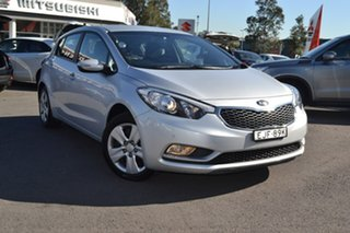 2016 Kia Cerato YD MY16 S Silver 6 Speed Sports Automatic Hatchback.