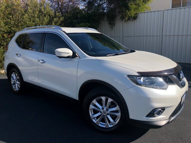 Used Nissan X-Trail T32 ST-L X-tronic 2WD, 2016 Nissan X-Trail T32 ST-L X-tronic 2WD Ivory Pearl 7 Speed Constant Variable Wagon