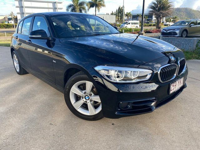 Used BMW 1 Series F20 LCI-2 118i Steptronic Sport Line, 2018 BMW 1 Series F20 LCI-2 118i Steptronic Sport Line Black 8 Speed Sports Automatic Hatchback