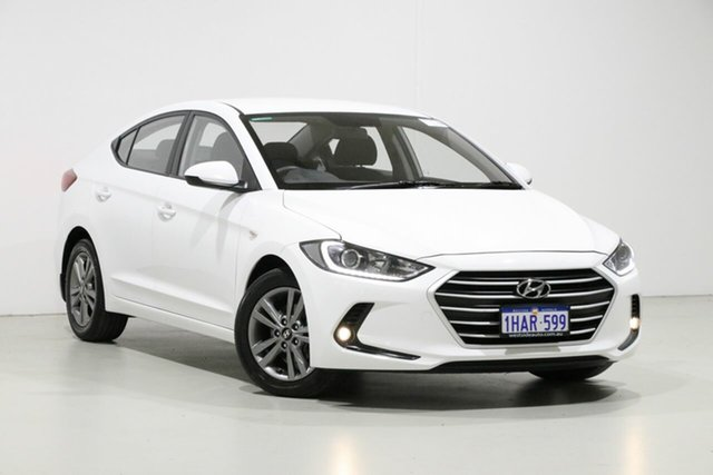 Used Hyundai Elantra AD Active 2.0 MPI, 2016 Hyundai Elantra AD Active 2.0 MPI White 6 Speed Automatic Sedan