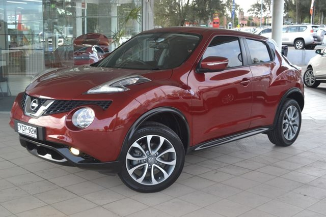 Used Nissan Juke F15 Series 2 ST X-tronic 2WD, 2015 Nissan Juke F15 Series 2 ST X-tronic 2WD Red 1 Speed Constant Variable Hatchback