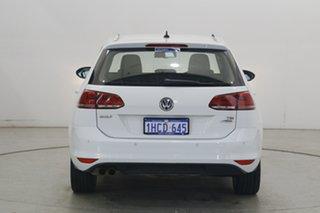 2016 Volkswagen Golf VII MY17 110TSI DSG Highline White 7 Speed Sports Automatic Dual Clutch Wagon
