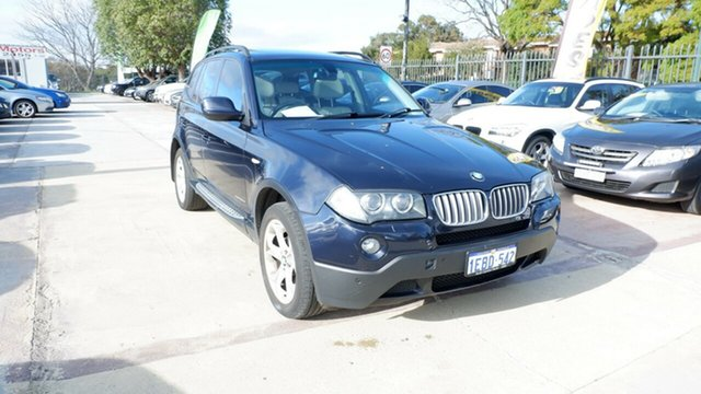 Used BMW X3 E83 MY10 xDrive20d Steptronic Lifestyle, 2010 BMW X3 E83 MY10 xDrive20d Steptronic Lifestyle Blue 6 Speed Automatic Wagon