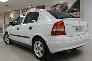 2003 Holden Astra TS City White 5 Speed Manual Hatchback.