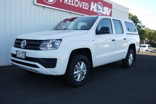 2019 Volkswagen Amarok 2H MY19 TDI420 4MOTION Perm Core White 8 Speed Automatic Utility