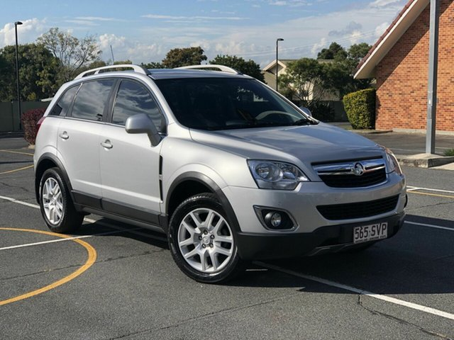 Used Holden Captiva CG Series II MY12 5, 2012 Holden Captiva CG Series II MY12 5 Silver 6 Speed Sports Automatic Wagon
