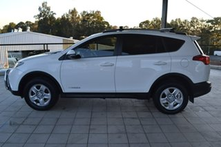 2015 Toyota RAV4 ALA49R GX AWD White 6 Speed Sports Automatic Wagon