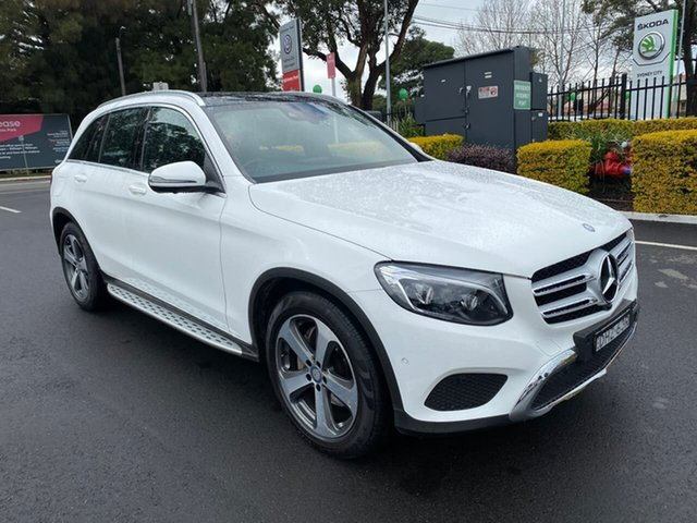Used Mercedes-Benz GLC220 X253 807MY d 9G-Tronic 4MATIC, 2016 Mercedes-Benz GLC220 X253 807MY d 9G-Tronic 4MATIC White 9 Speed Sports Automatic Wagon