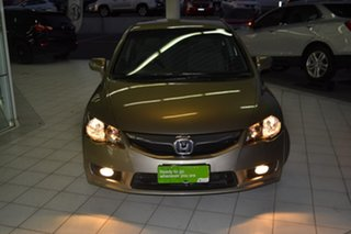 2009 Honda Civic 8th Gen MY09 VTi Beige 5 Speed Automatic Sedan.
